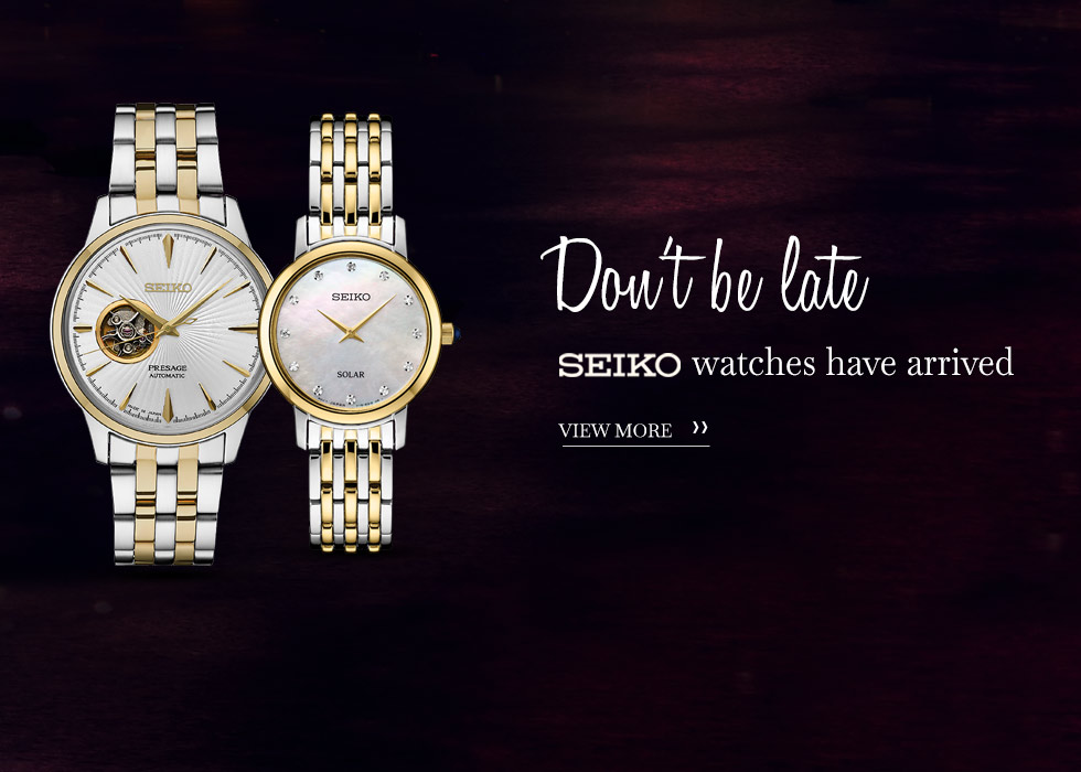 Buy Seiko Watches At Chapman Jewelry